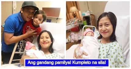 Apat na sila! First family photos nina Jolina Magdangal at Baby Vika, kinagiliwan ng netizens