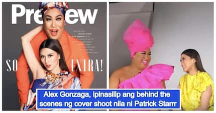 Nosebleed si teh! Alex Gonzaga shares the behind the scenes of her shoot with renowned Youtuber Patrick Starrr