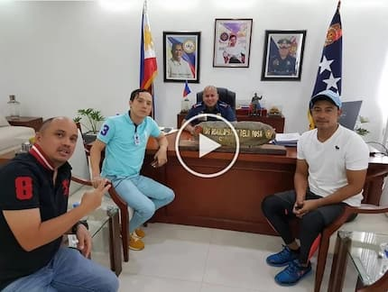 Sumunod na tayo! Cesar Montano accompanies friend Epy Quizon to drug test at PNP