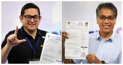 Mar Roxas at Bam Aquino, desidido tumakbo sa Senado at nag-file na ng COC
