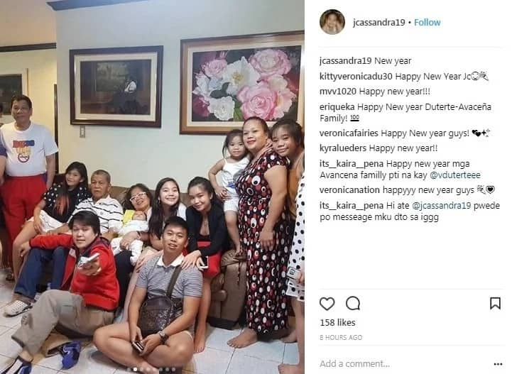 Simpleng tao talaga! President Duterte's simple New Year celebration earns praises from supporters