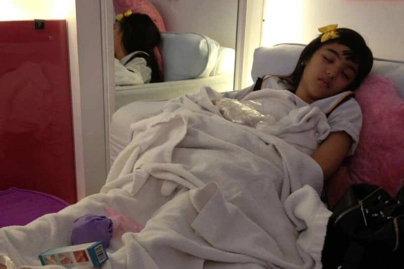 Hulicam! Celebs caught on-cam catching some much needed Z's