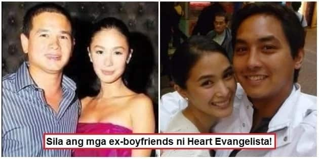 6 men who were romantically linked to Heart Evangelista
