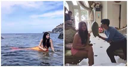 May bago nanaman tayong aabangan! Janella Salvador and Elmo Magalona resume filming new movie 'My Fairy Tail Love Story'