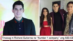 Nilaglag niya ang GMA? Ex-Kapuso Richard Gutierrez declares ABS-CBN to be the number one company which is why he's happy