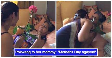 Pokwang, sinorpresa sa Mother's Day ang nanay niyang may Alzheimer's Disease