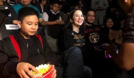 Kris Aquino & Atty. Gideon Peña attend 'I Love You Hater' premiere together; draw mixed reactions from netizens