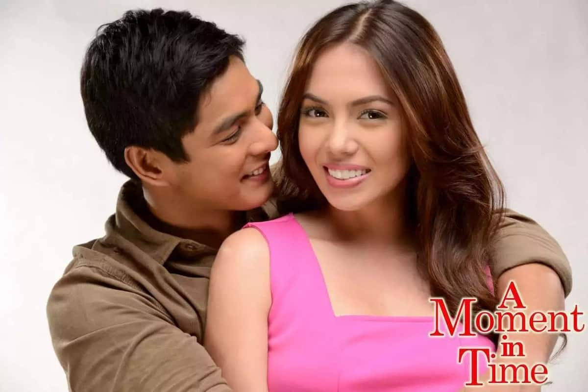 Coco Martin visits Julia Montes during taping