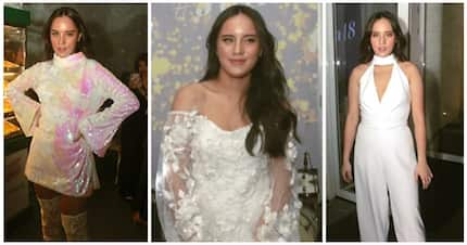 Juliana Gomez rocks in her all-white OOTDs for her 18th birthday