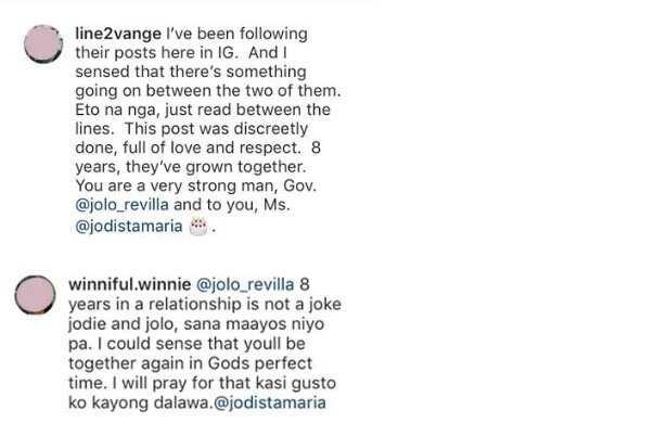 Sayang na pag-ibig? Jodi Sta. Maria at Jolo Revilla, pinalungkot ang maraming netizens sa balitang umano'y hiwalayan nila