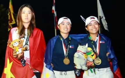 Pinay golfers nag-uwi ng 2 gold medals sa 2018 Asian Games