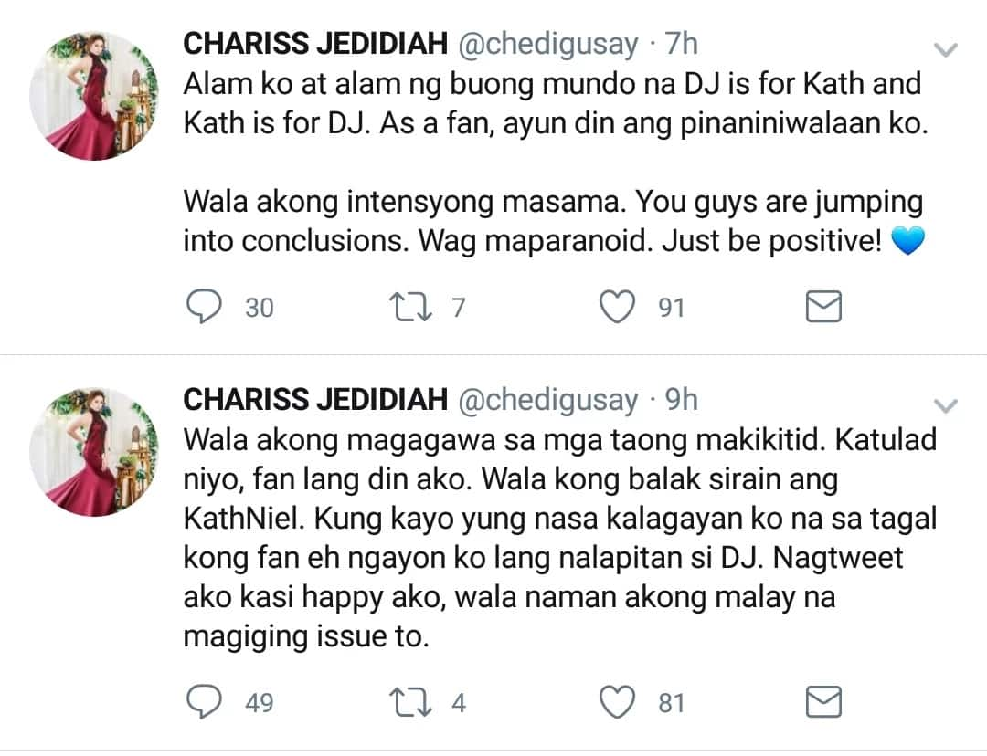 Beastmode ang KN fans sayo ate girl! Fan claims that Daniel