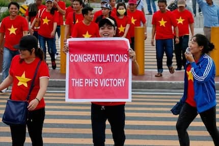 LOOK! Dozens arrested in anti-China rally in Vietnam