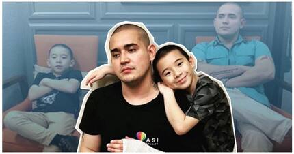 Paolo Contis at anak ni LJ Reyes, father and son by heart