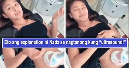 Ultrasound agad? Nadine Lustre explain mode kung ano ang ginagawa sa kanyang tiyan