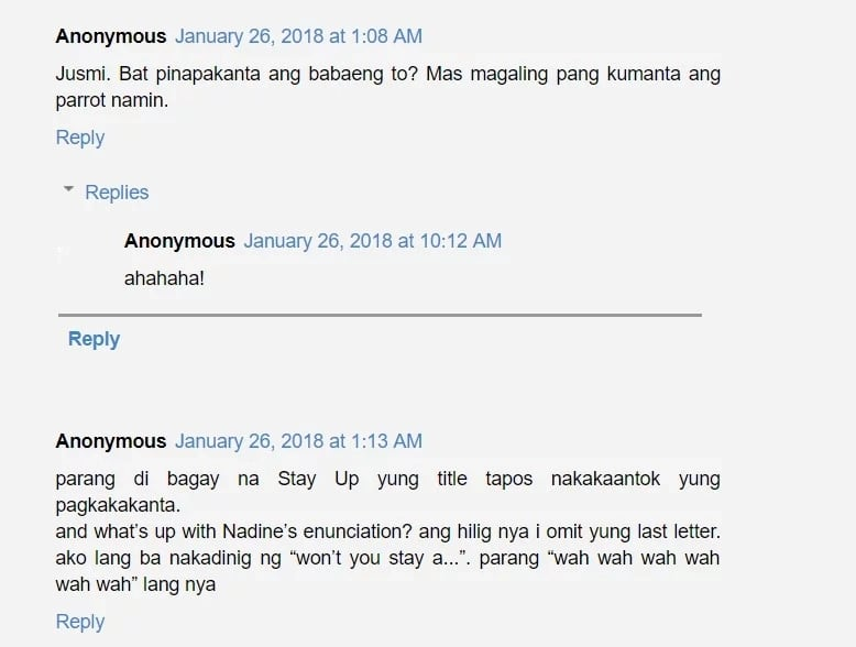 Grabe, na-okray talaga ng todo! Netizens criticize Nadine Lustre's 'St4y Up' music video
