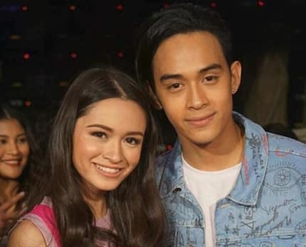 Blood is thicker than water. Diego Loyzaga gives advice to sister, Angelina Cruz