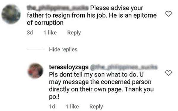 Teresa Loyzaga pinatulan mga netizens na bumabatikos sa Boracay photo ni Diego Loyzaga