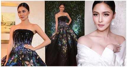 Nag stand out talaga siya! Kim Chiu stuns in butterfly-inspired Michael Cinco ball gown