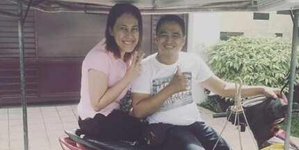 Netizens, nagulantang sa pagsakay ni Ai-Ai delas Alas sa tricycle ng isang mangtataho