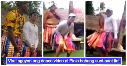 Epic video of Piolo Pascual dancing while wearing unique Hawaiian outfit