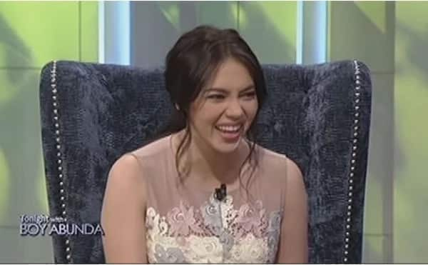 Julia Montes clarifies she's not going to have a baby soon