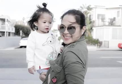 Baby Luna shows why she is the best workout buddy of her mom Judy Ann Santos