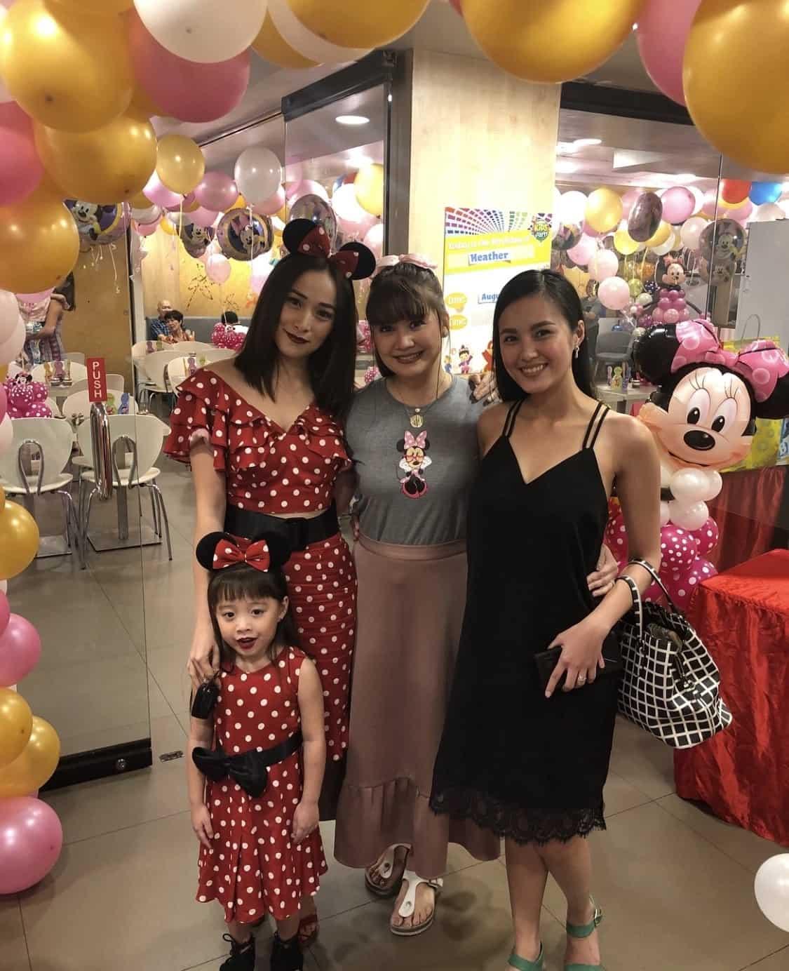 Nadine Samonte's unica hija Heather Sloane celebrates her 2nd birthday