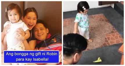 Mariel Rodriguez, tuwang-tuwa sa regalo ni Robin Padilla para sa anak nilang si Isabella
