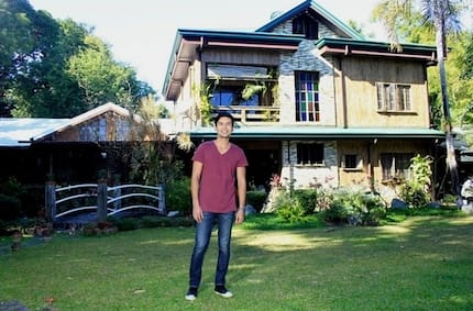 Christian Bautista's ancestral house in Imus, Cavite