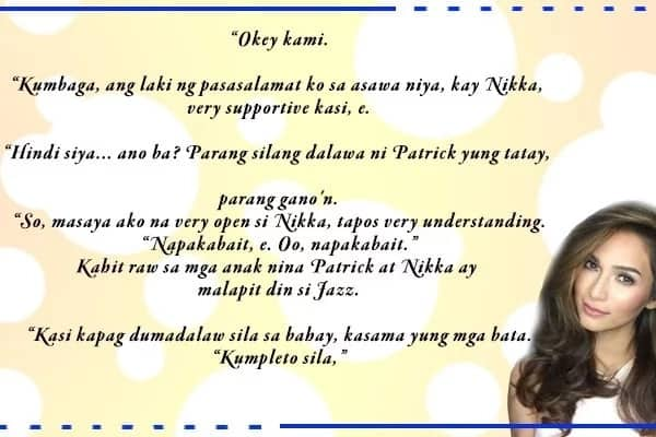 Bihira ang ganito! Jennylyn acknowledges Patrick Garcia's wife Nikka for being supportive and understanding