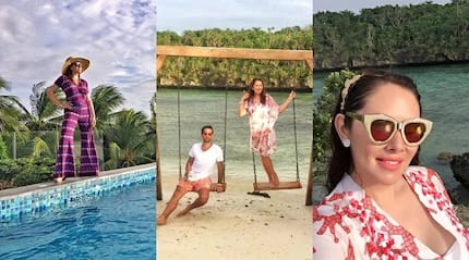 From Siargao to Boracay! Ruffa Gutierrez and her BF is having a fabulous time exploring this island