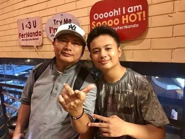 Anak ni Andrew E namana ang rapping skills ng PH icon