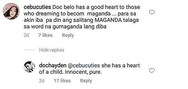 "Hayden Kho has the best response to someone who called Doc Vicki ""hindi gumanda"""