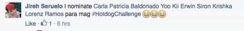 #HotDogChallenge Girl goes viral