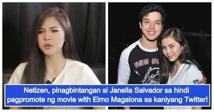 May favoritism ba? Netizen, inakusahan si Janella Salvador sa hindi umano nito pag promote ng movie nila ni Elmo Magalona