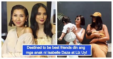 Wala kayong choice! Babies ni Isabelle Daza ay Liz Uy, Besties din paglaki!