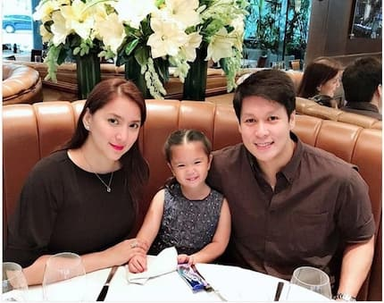 Masayang magkasama sina Ara Mina, Patrick Meneses at baby nila si Amanda