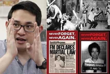 Di pwede tsismis! Senator condemns online efforts to rewrite Martial Law facts