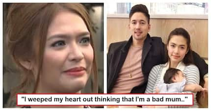 "Hindi madaling maging ina! Bangs Garcia opens up about her struggles as a first-time mother: ""I got traumatized"""