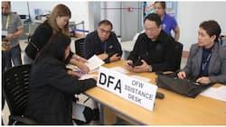 P5000 cash aid para sa mga OFW na apektado ng bagyong Ompong