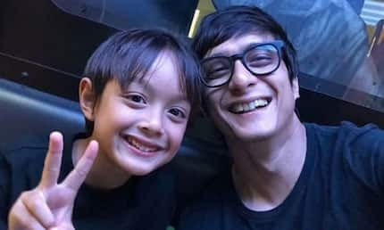 Ryan Agoncillo is busy doing his daddy duties during showbiz leave