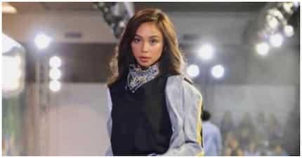Tyra Banks approves Maymay's runway walk during Bench fashion show