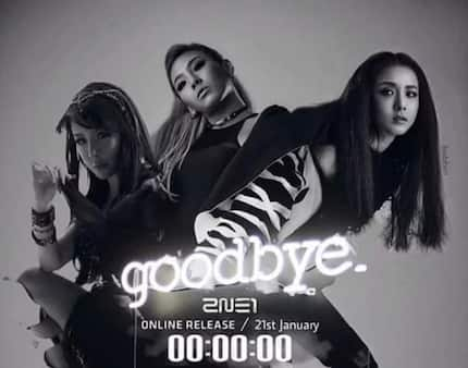 2NE1 bids 'Goodbye' and it brought nothing but tears