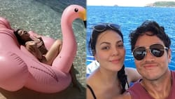 KC Concepcion welcomes 32nd birthday in the most beautiful island in the PH