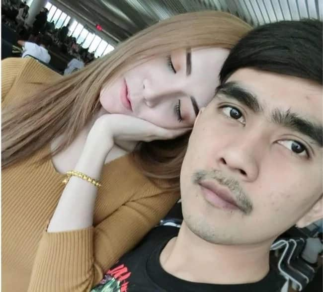 Kay swerteng tsuper! Taxi driver becomes object of envy because of stunning model girlfriend of 5 years