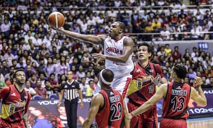 Ginebra eyes for solo lead in PBA Governor's Cup