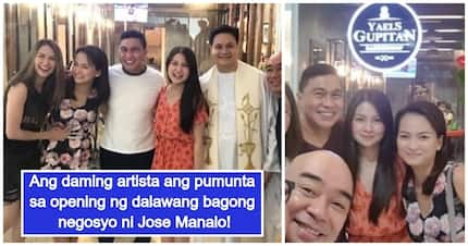 Star-studded ang opening! Jose Manalo opens 2 new business establishments in Quezon City