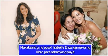 Wow! Isabelle Daza's first project in college is about her yaya Luning