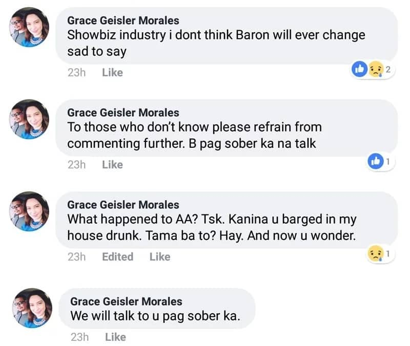 Baron Geisler's sister calls him 'stupid' after actor writes U.S. insurance company handing deceased mother's U.S. estate